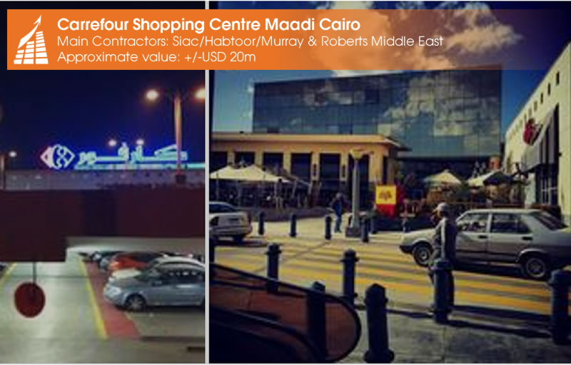 CARREFOUR SHOPPING CENTRE - MAADI CAIRO
