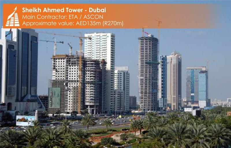 SHEIKH AHMED TOWER - DUBAI