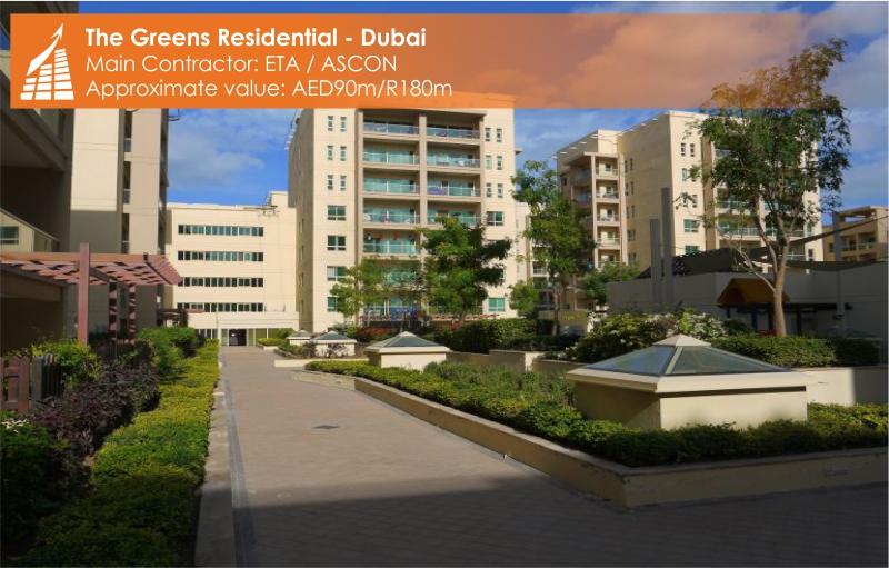 THE GREENS - RESIDENTIAL - DUBAI