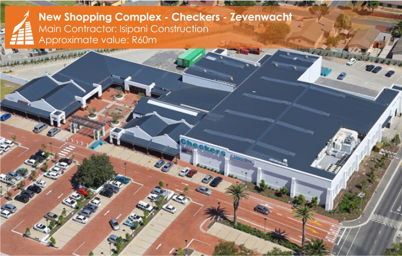 SHOPPING COMPLEX - CHECKERS - ZEVENWACHT