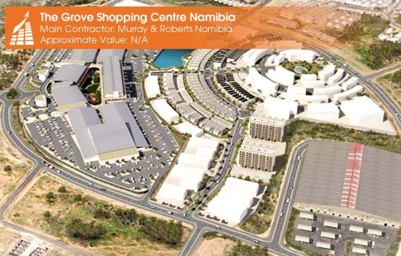 THE GROVE SHOPPING CENTRE - NAMIBIA
